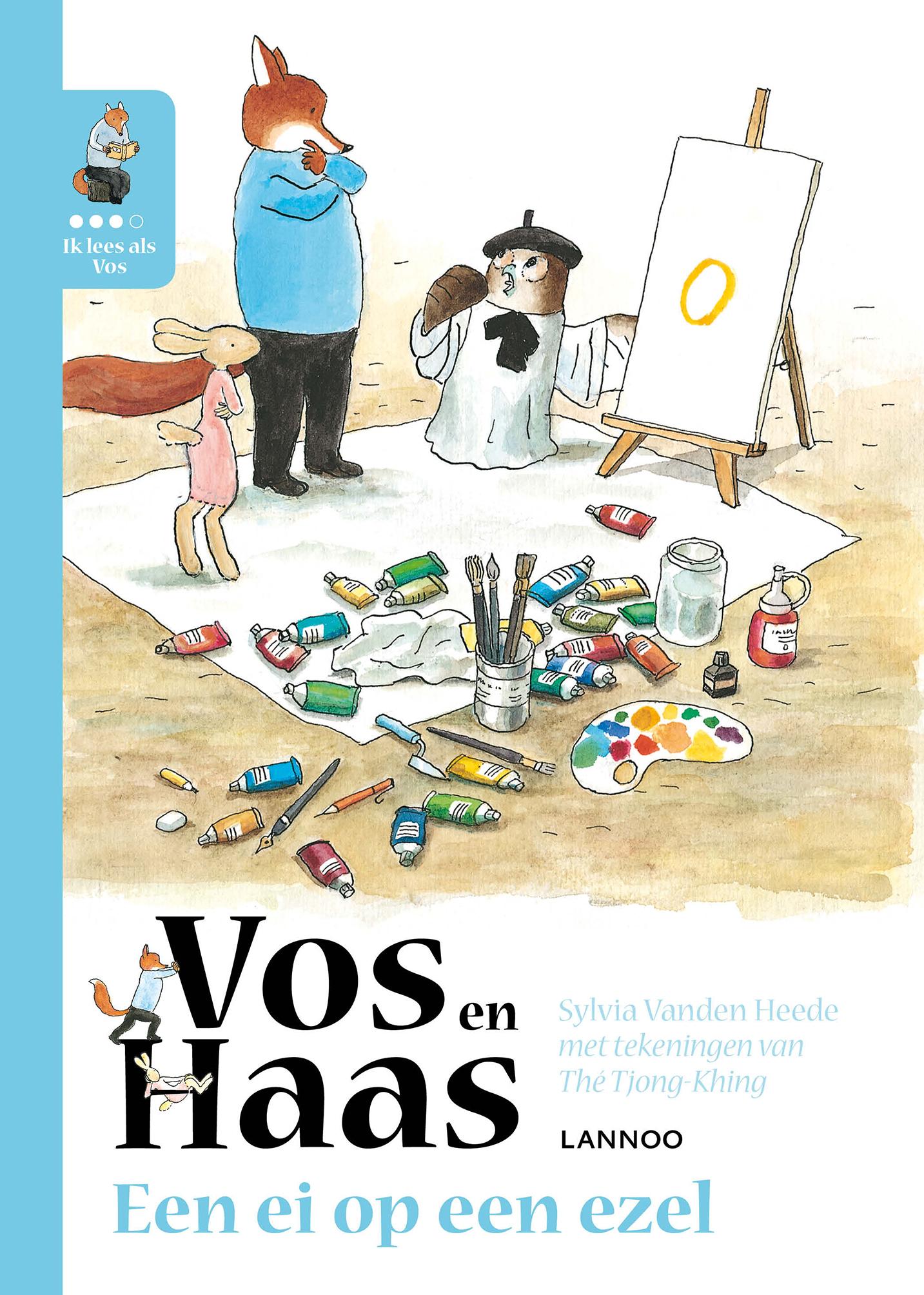 Vos en Haas - Een ei op een ezel