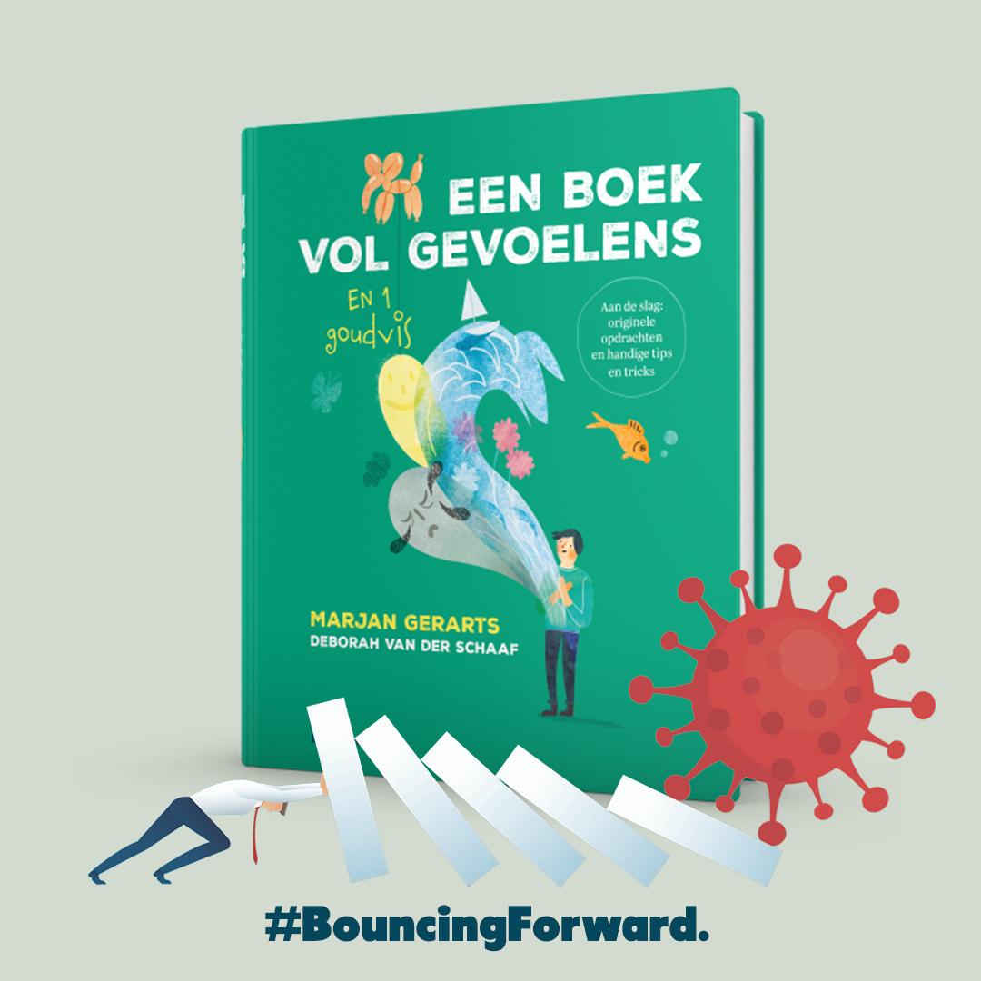 een boek vol gevoelens bouncing forward