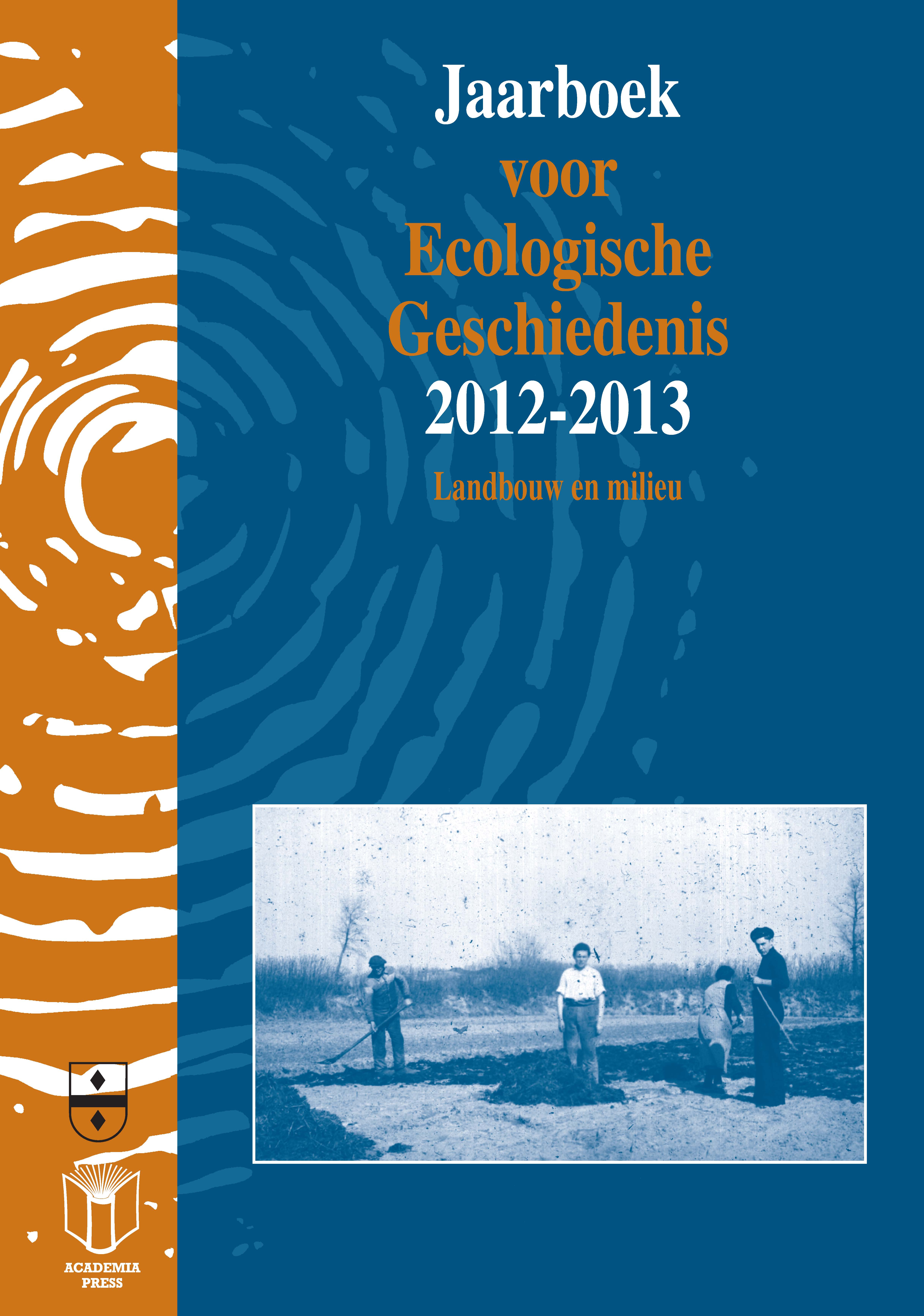 Citaten Voor Jaarboek : Jaarboek voor ecologische geschiedenis
