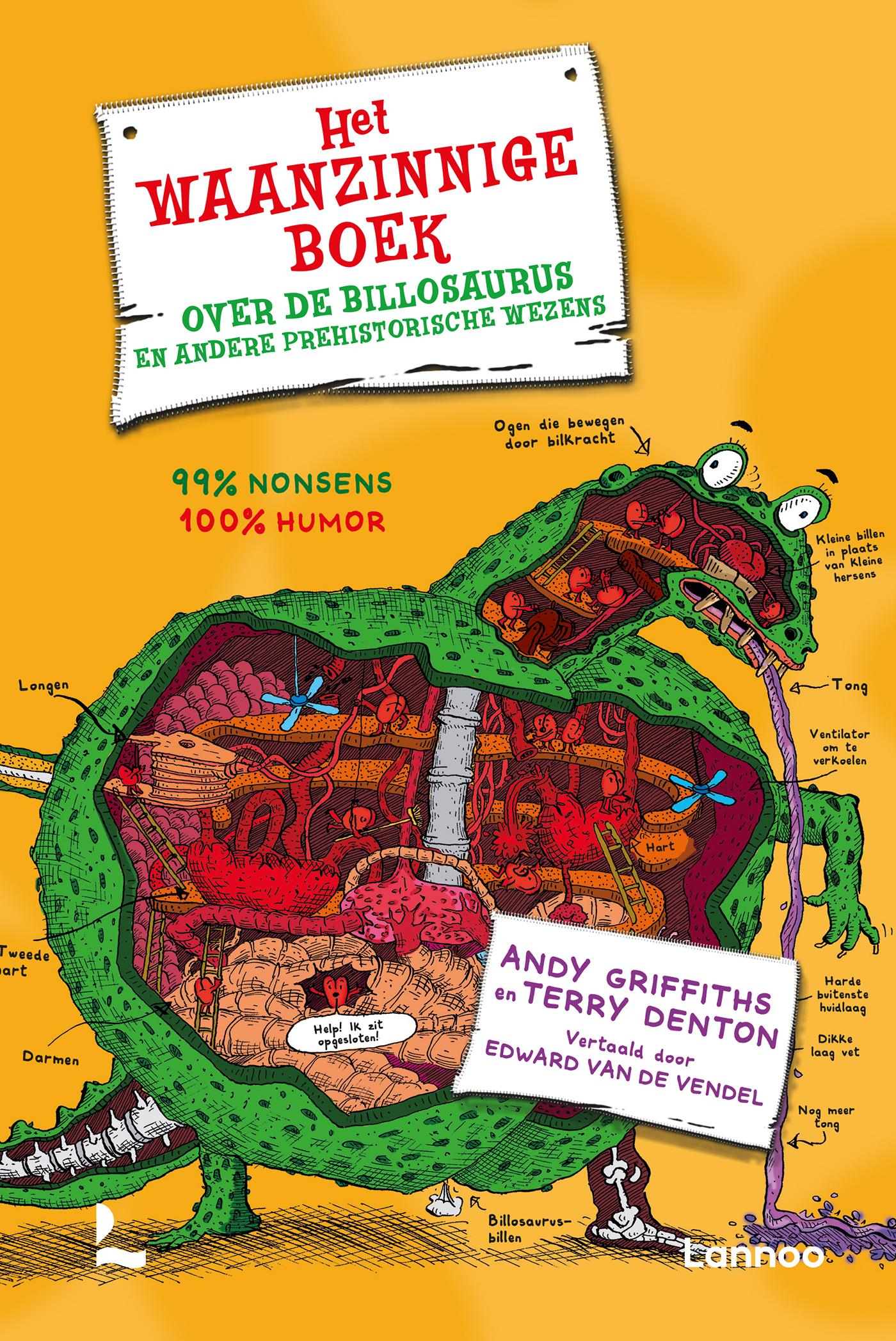 Het waanzinnige boek over de billosaurus en andere for Het boek over jou