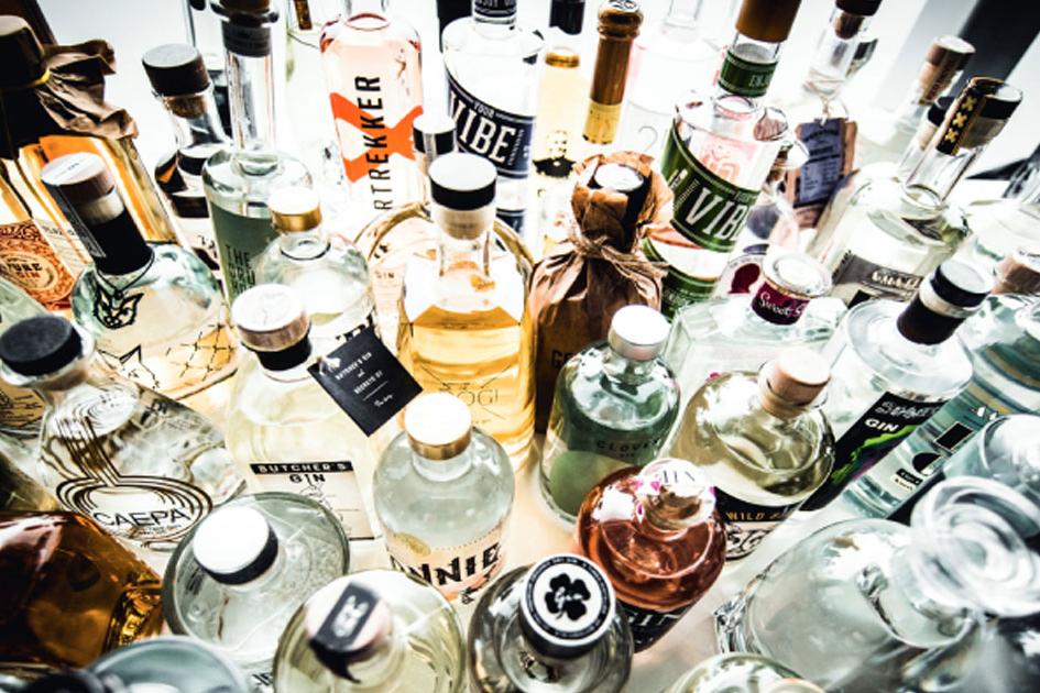 gin tonic black edition