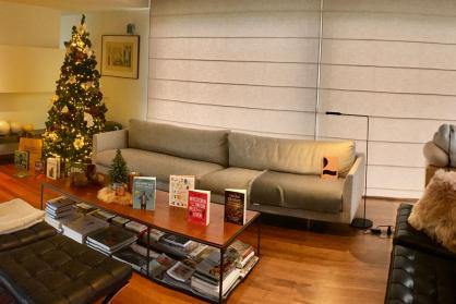 foto kersthuis
