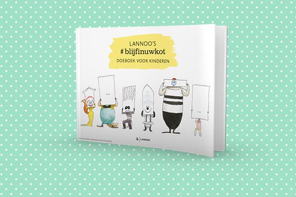 #blijfinuwkot doeboek voor kinderen
