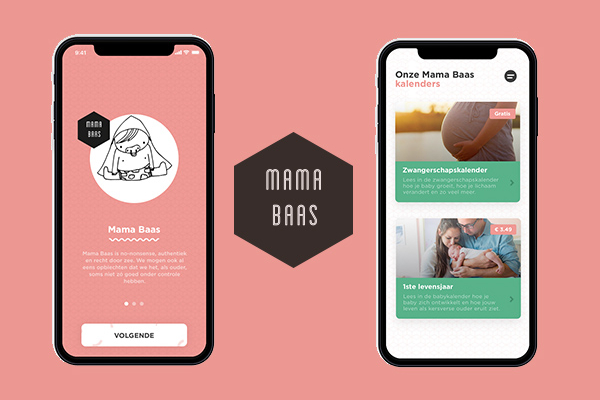 screenshot mama baas app