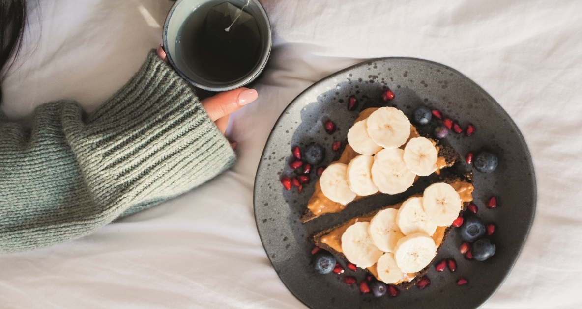 ontbijt en thee