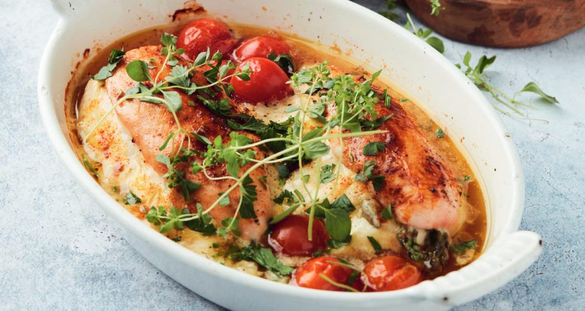 gerecht kip met asperges en volkorenpasta