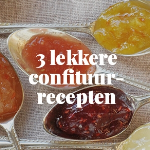 Recepten met confituur