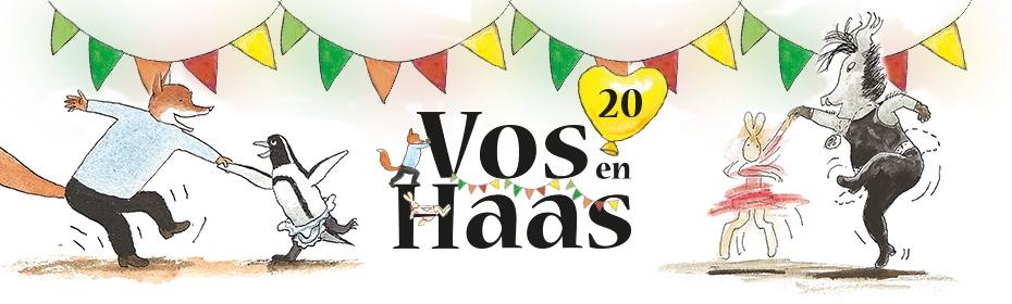 Kleurplaat 20 Jaar Vos En Haas Uitgeverij Lannoo