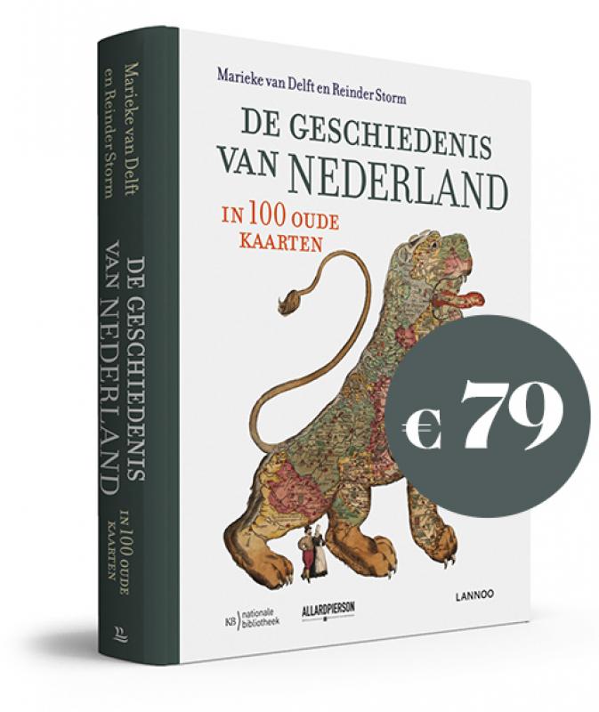 Nederland In Oude Kaarten Uitgeverij Lannoo