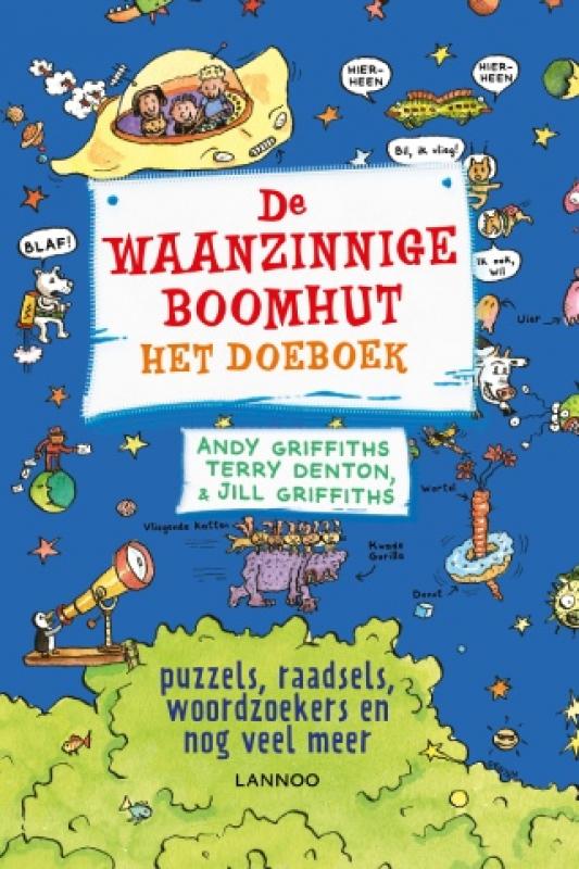 waanzinnige boomhut doeboek cover