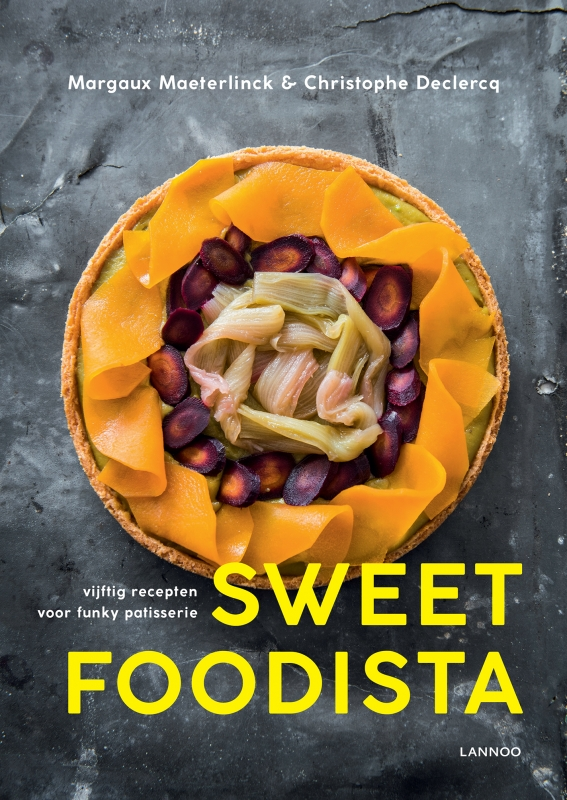 Sweet foodista Margaux Maeterlinck en Christophe Declercq cover