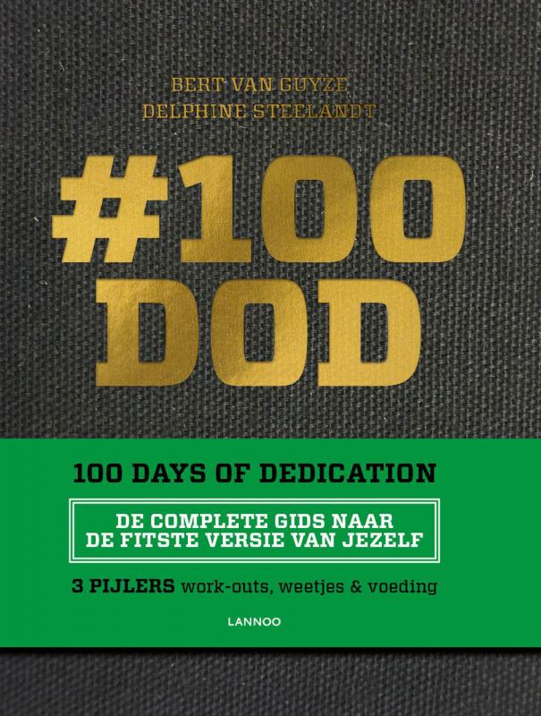 cover boek #100DOD