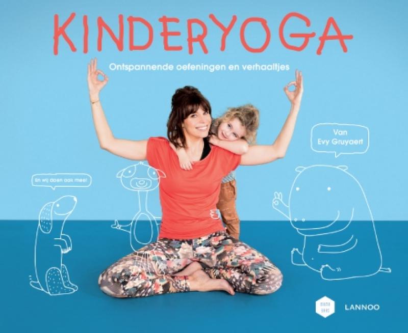 cover boek - Kinderyoga