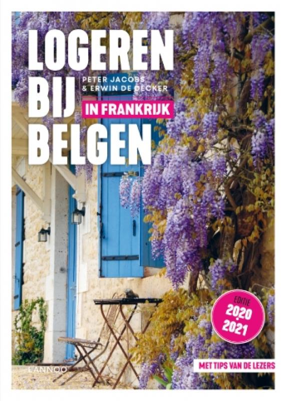 cover boek 'Logeren bij Belgen in Frankrijk'