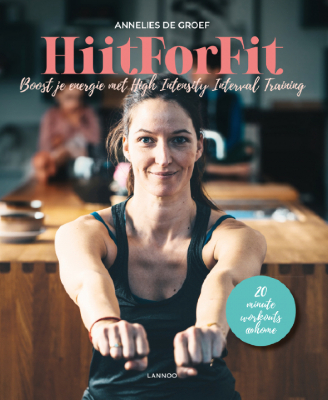 cover boek hiit for fit