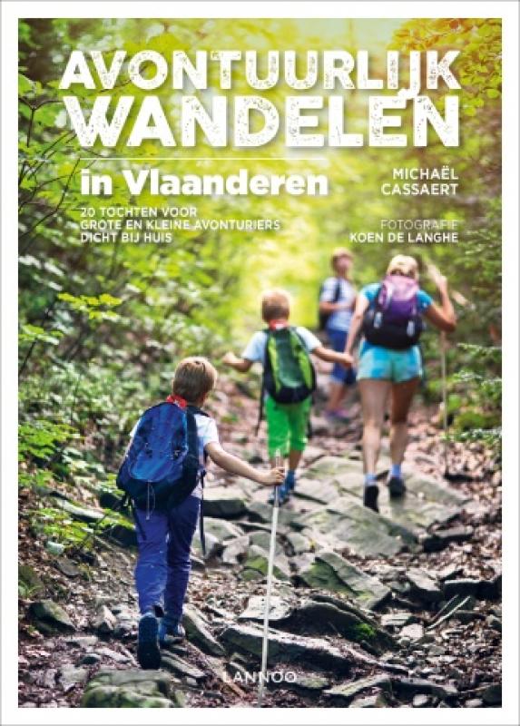 cover boek Avontuurlijk wandelen in Vlaanderen