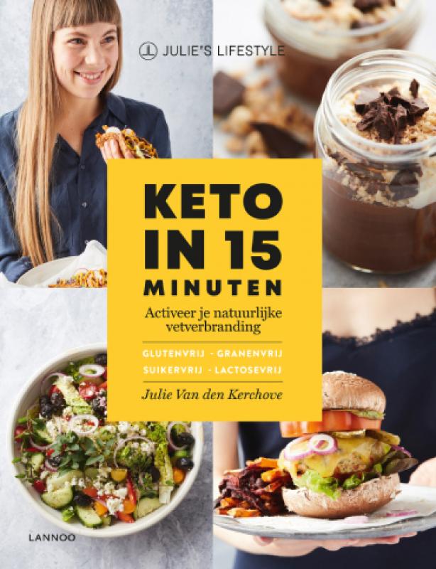cover boek Keto in 15 minuten