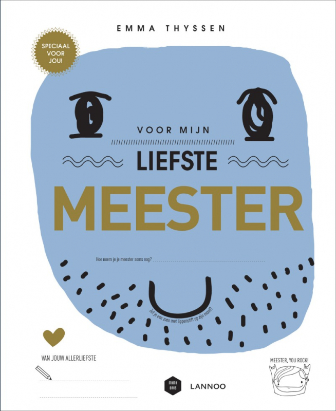 cover boek voor mijn liefste meester