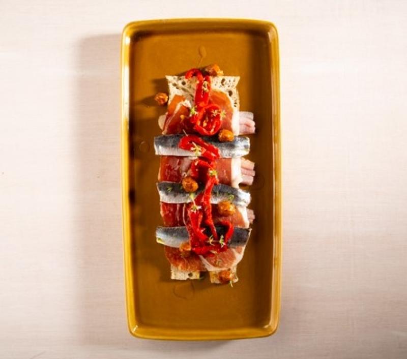 Spaanse sardienen met serranoham