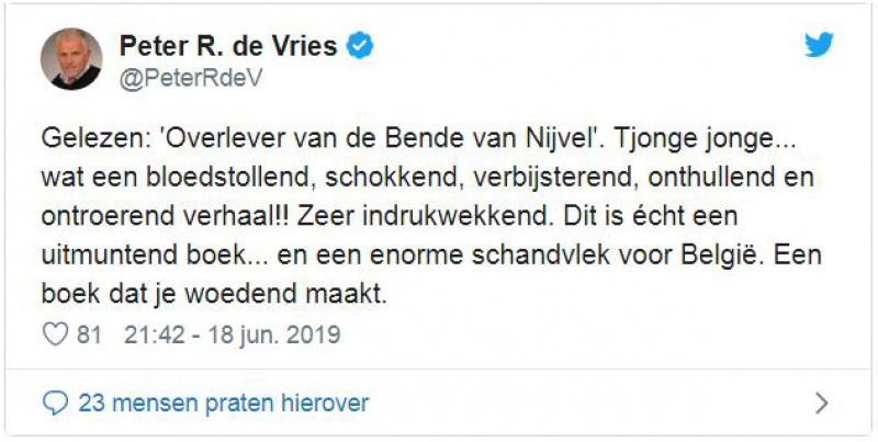 Peter R. de Vries over de bende van Nijvel