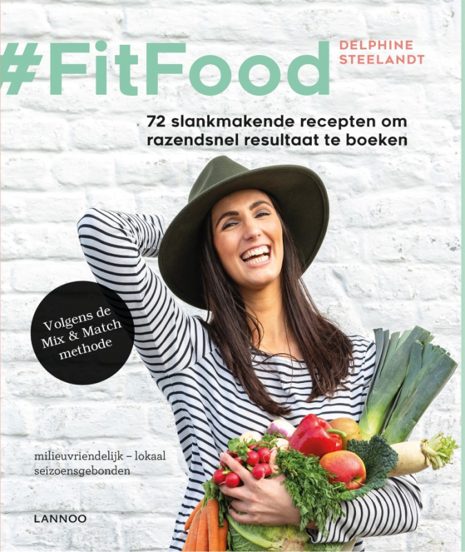 cover boek #Fitfood