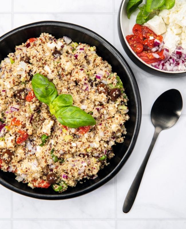 foto gerecht mediterraanse quinoasalade