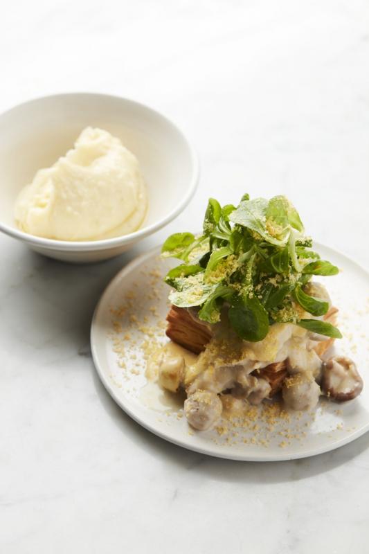 vol-au-vent met aardappelpuree