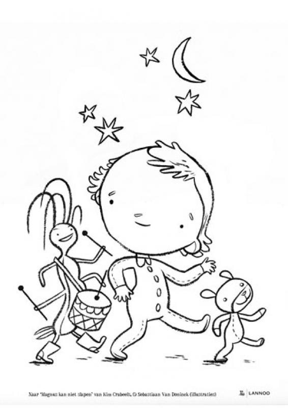 3 Leuke Kleurplaten Voor Je Kinderen Uitgeverij Lannoo