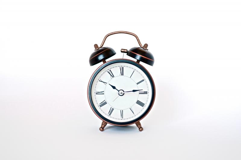 klok wekker uur tijd