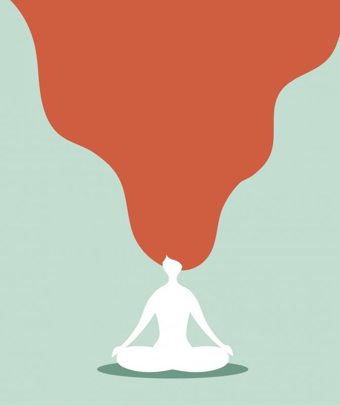 mediteren illustratie