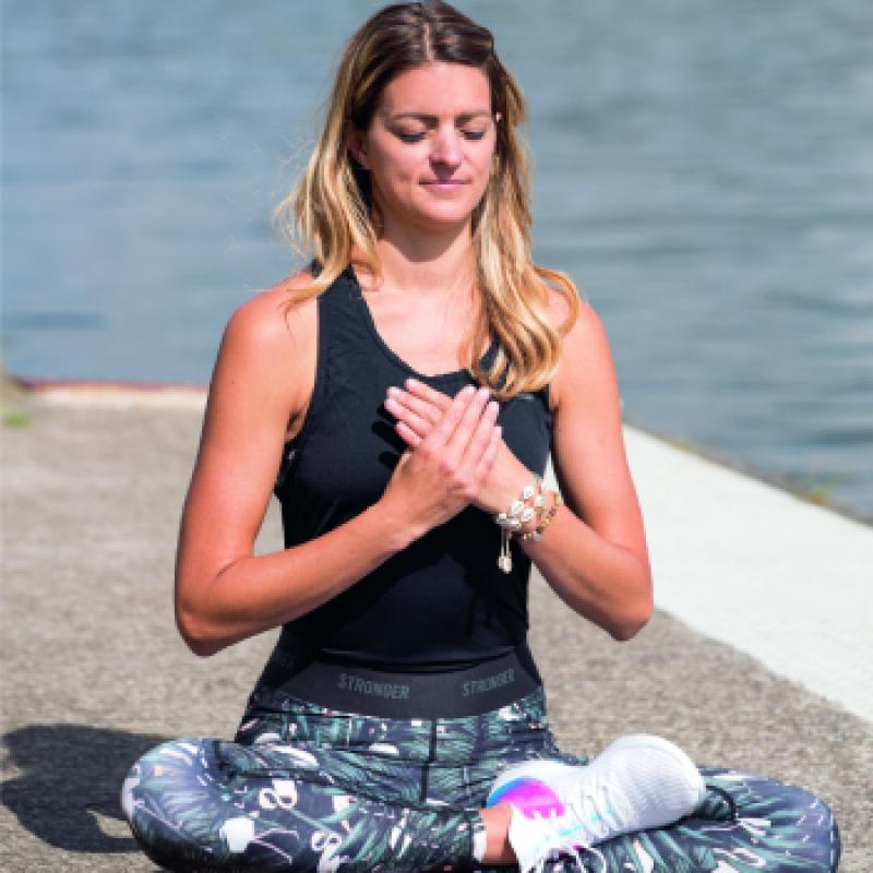 yoga claudia van avermaet