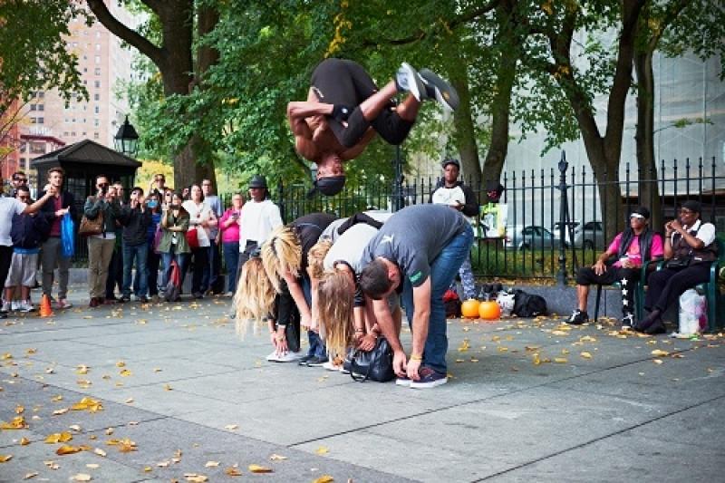 Breakdancende rappers