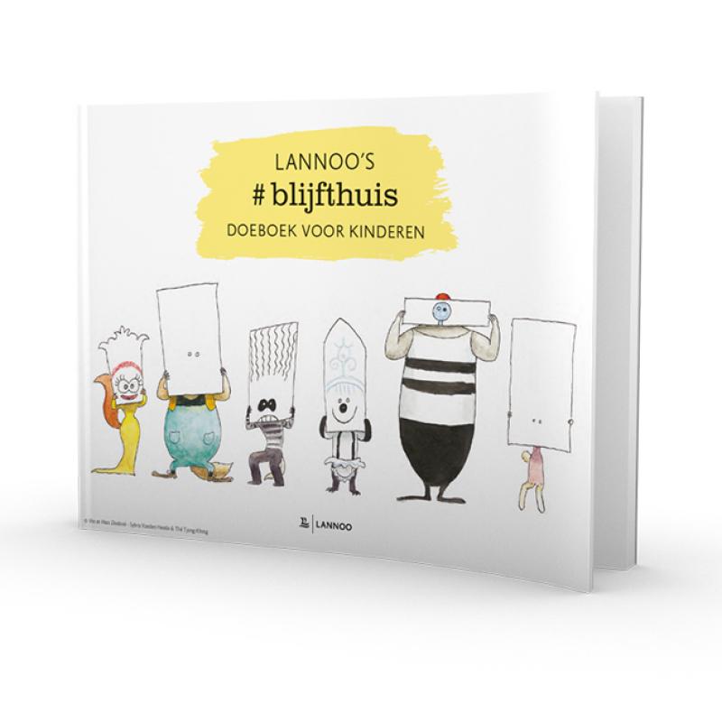#blijfthuis doeboek voor kinderen